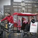 Biotaxi-láz Amszterdamban és a magyarok
