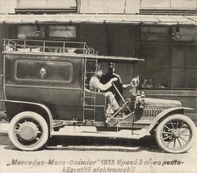 Mercedes-Mars-Daimler elektromobil, 1913 Postamúzeum