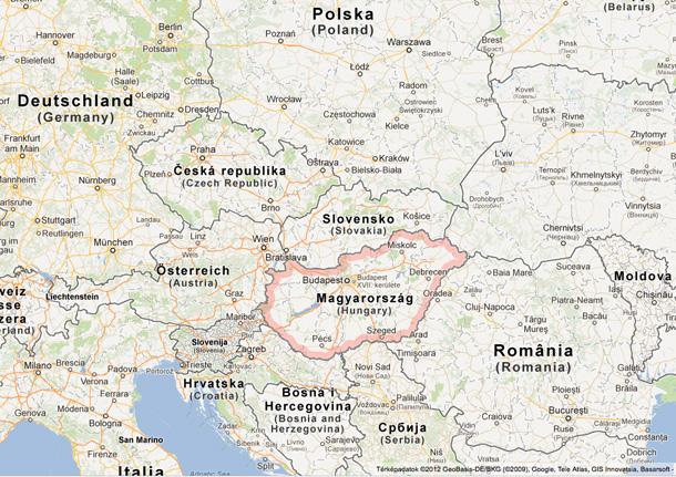 magyarország szomszédos országai térkép A régióban nálunk a legdrágább az LPG! – Energiaoldal magyarország szomszédos országai térkép