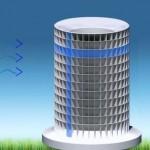 Energiatermelő torony (videó)