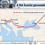 Aláírták a Déli Áramlat horvát mellékágáról szóló orosz-horvát memorandumot