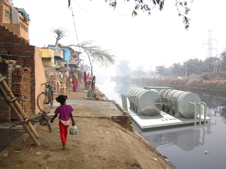 water sanitation for slums