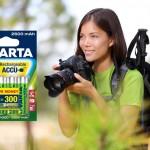 Környezetbarát VARTA akkumulátorok