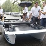 Új magyar napelemes autó készült