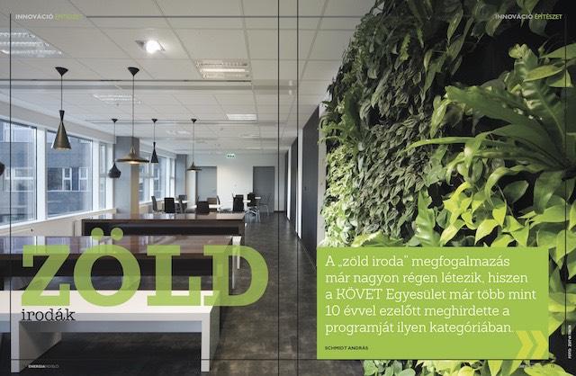 Zöld irodák Energiafigyelő magazin