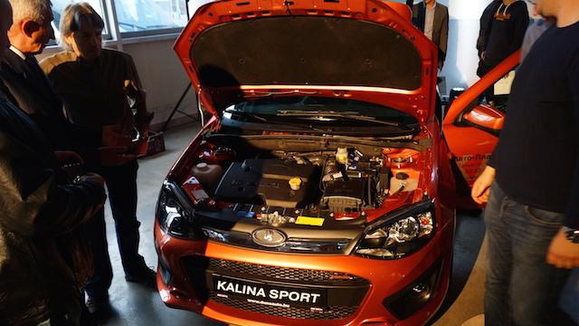 Lada Kalina Sport motor