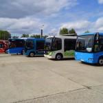 Magyar gyártású elektromos buszok Budapesten