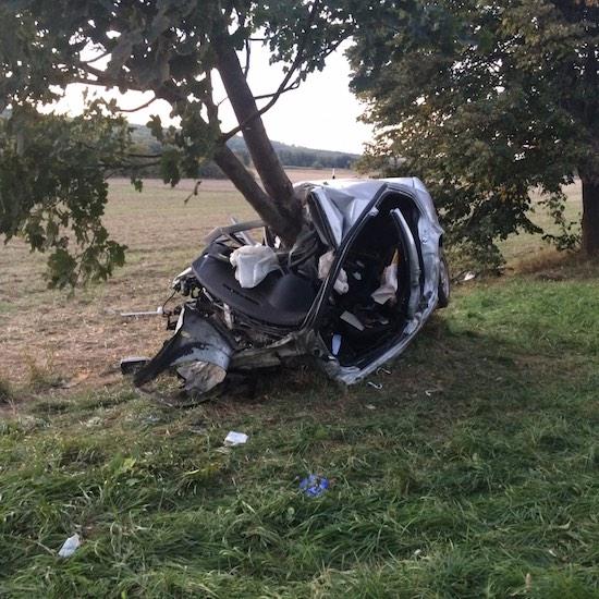 Volkswagen baleset
