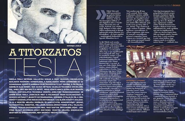A titokzatos Tesla, Energiafigyelő magazin