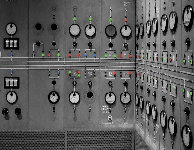 Erőmű vezérlőközpont
