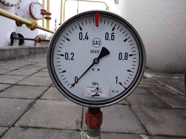 Gázvezeték nyomásmérő