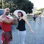 A pedálos taxikat és a gladiátorokat is kitiltották Rómából