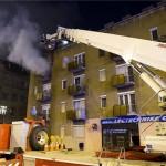 Öt sérültje van a fővárosi, Váci úti lakástűznek