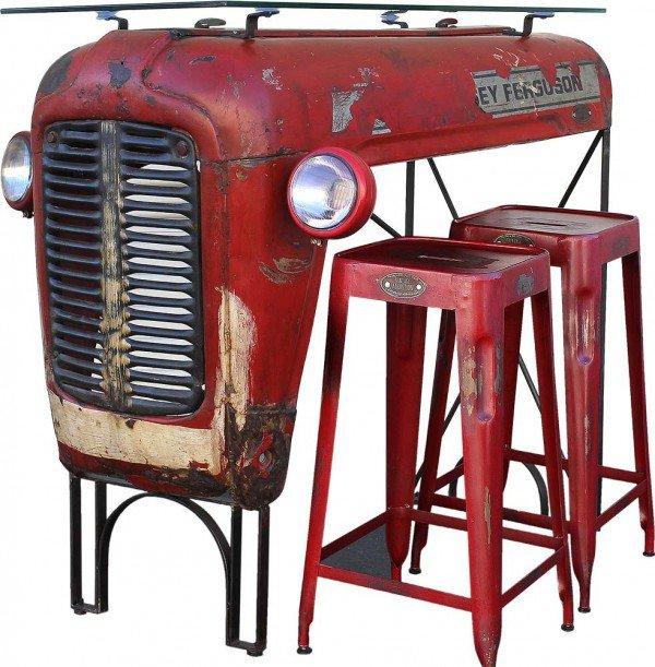 Öreg traktorból bárpult házilag, csináld magad