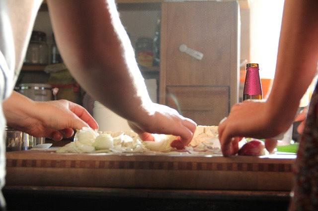 Főzés konyha zöldség
