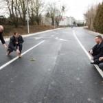 Gumiabroncsból készült utat adtak át Zalaegerszegen