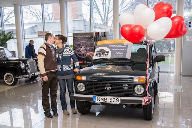 Lada 4x4 Niva Debrecen Euro-6
