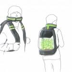 """Légtisztító """"növényi hátizsákot"""" tervezett egy holland diák"""