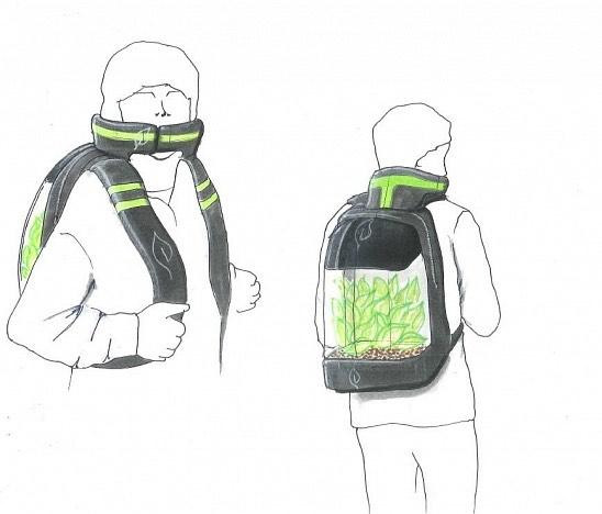 Légtisztító hátizsák