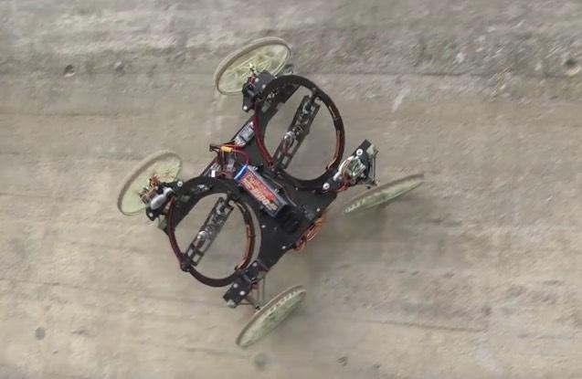Vertigo falmászó robot Disney