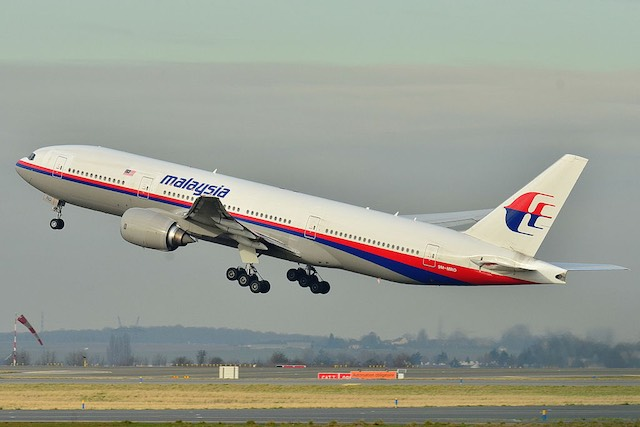 A Malaysia Airlines 370-es járata. kép: wikipedia