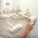 Domborművek házilag (videó)