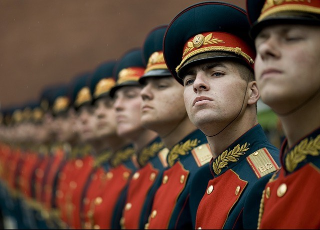 Orosz katonák
