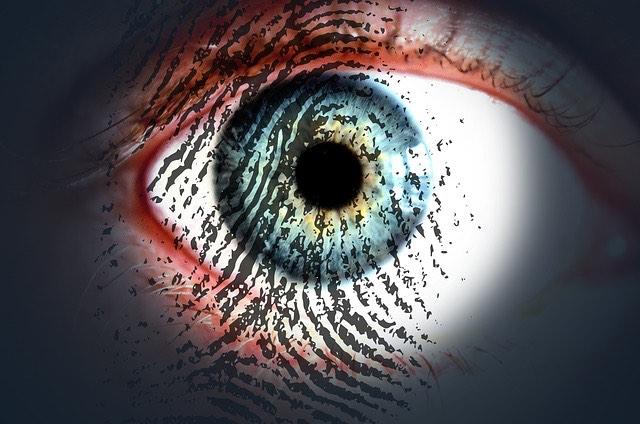 ujjlenyomat szem
