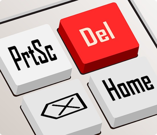 Delete Home billentyűzet számológép számítógép törlés