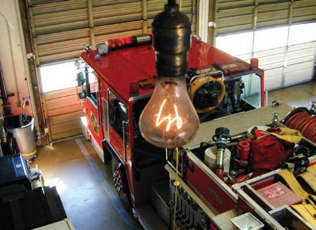 Livermore 6. számú tűzoltóállomás. kép: centennialbulb.org