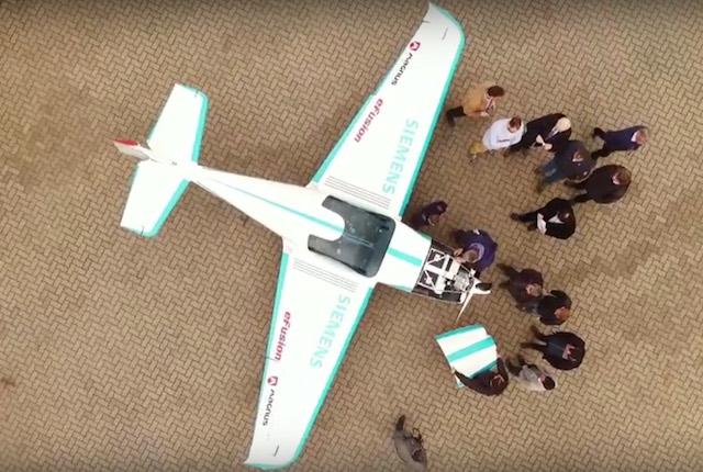 eFusion elektromos repülőgép