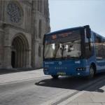 Magyar villanybuszok a budai Várban