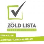 Környezettudatosságra ösztönöz a Zöldlista vásárló program