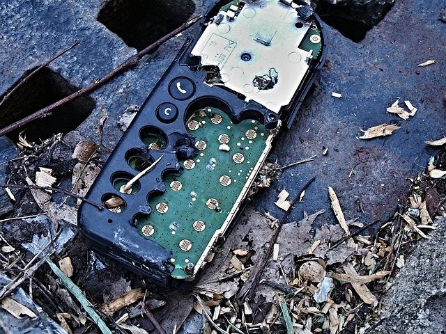 e-hulladék mobiltelefon