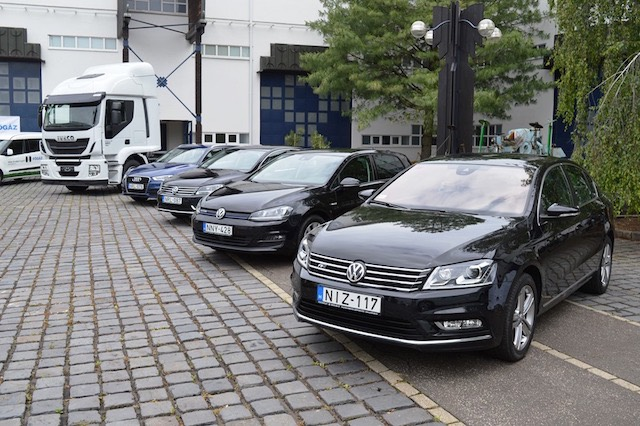 Konferencia autókiállítás CNG Gödöllő VW