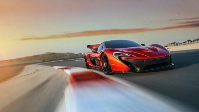 McLaren p1 elektromos sportkocsi