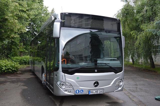 Mercedes-Benz Citaro NGT CNG Gödöllő