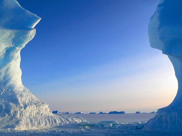 déli sark antarktisz jéghegyek