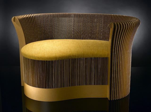 Terbe design papír bútorok sofa