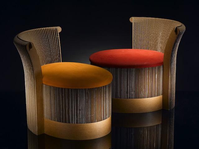 Terbe design papír bútorok