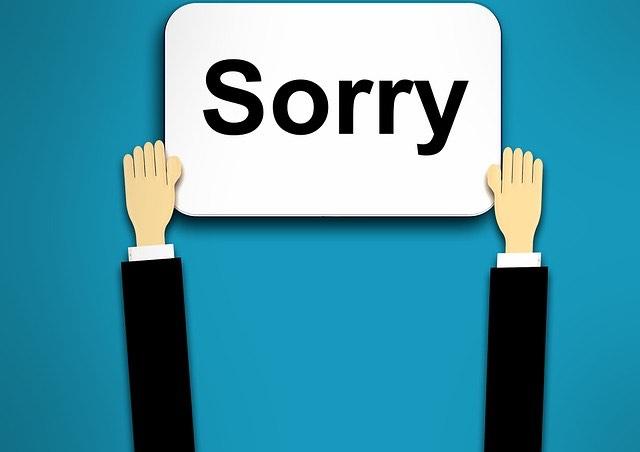 sorry-bocsánat