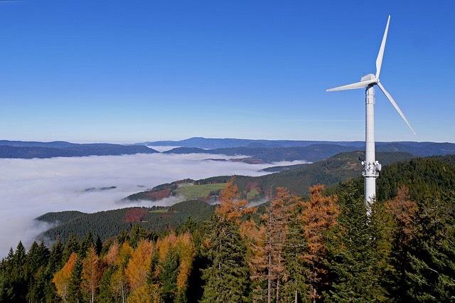 szélerőmű Németország