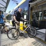 Kerékpárok is szállíthatók a szegedi villamosokon