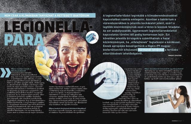 Legionella - Energiafigyelő magazin