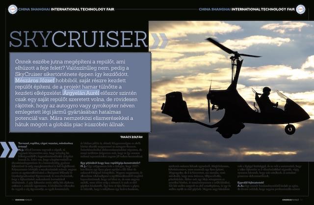SkyCruiser - Energiafigyelő magazin