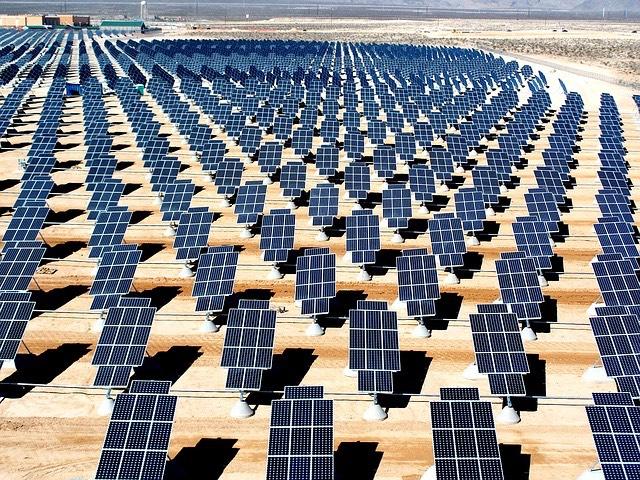 naperőmű napenergia sivatag