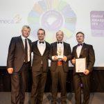 Rangos nemzetközi díjat nyert a MOL gumibitumen