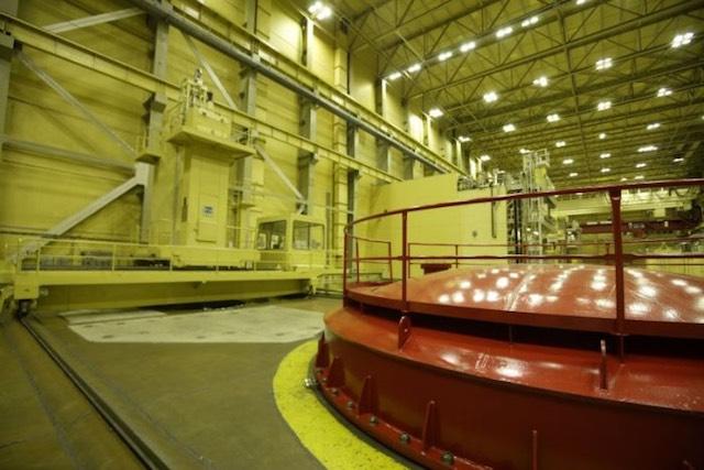 Paksi Atomerőmű reaktortér. kép: atomeromu.hu