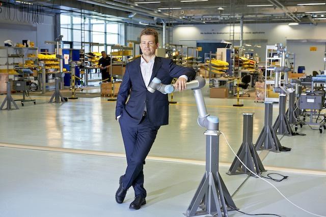 Esben H. Oestergaard műszaki vezérigazgató. kép: universal-robots.com