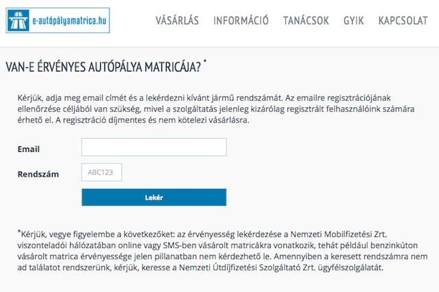 e-autopalyamatrica